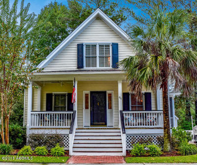 Beaufort Single Family Home For Sale: 86 Bostick Circle