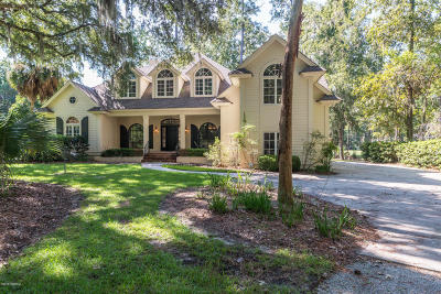 Beaufort County Single Family Home For Sale: 50 Spring Island Drive