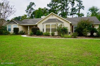 Beaufort, Beaufort Sc, Beaufot Single Family Home For Sale: 1003 Wolverine Drive