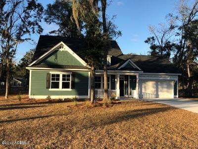 Beaufort Single Family Home For Sale: 8 Fox Sparrow Road