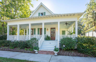 Beaufort Single Family Home For Sale: 10 Park Bend