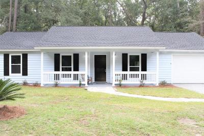 Beaufort SC Single Family Home For Sale: $197,000
