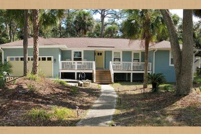 Fripp Island Single Family Home For Sale: 266 Tarpon Boulevard