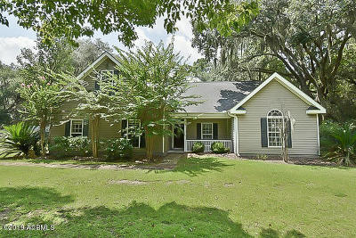 Beaufort County Single Family Home For Sale: 157 Trotters Loop