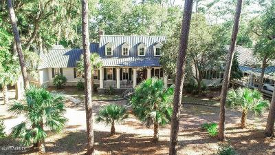 Beaufort County Single Family Home For Sale: 200 Spring Island Drive