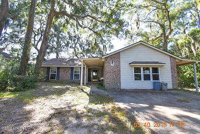 Beaufort Single Family Home For Sale: 3012 Broad River Drive