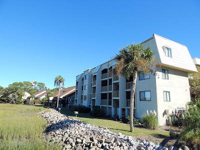 Fripp Island Condo/Townhouse For Sale: 173 Beach Club Villa