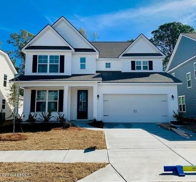 Beaufort Single Family Home For Sale: 3624 Oyster Bluff Drive
