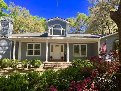 Beaufort County Single Family Home For Sale: 55 Miller Drive E