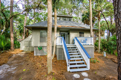 Beaufort County Single Family Home For Sale: 846 Marsh Dunes Road