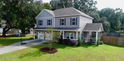 Beaufort County Single Family Home For Sale: 11 Mint Farm Drive