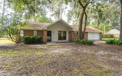Beaufort Single Family Home For Sale: 3065 Ratel Circle