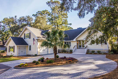 Beaufort County Single Family Home For Sale: 545 Island Circle E