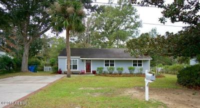 Beaufort, Beaufort Sc, Beaufot Single Family Home For Sale: 614 Arnold Drive