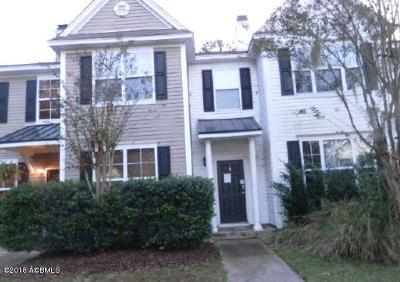 Bluffton Condo/Townhouse For Sale: 166 Westbury Park Way