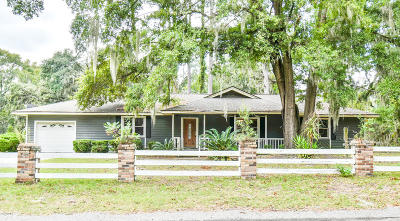 Beaufort County Single Family Home For Sale: 1110 Hookstra Drive