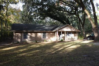 Beaufort County Single Family Home For Sale: 1110 Coleman Lane