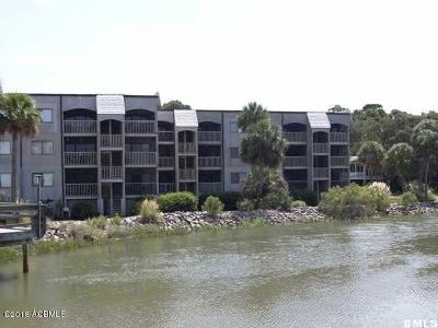 Beaufort County Condo/Townhouse For Sale: 179 Beach Club Villa