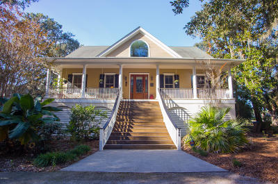 Beaufort County Single Family Home For Sale: 208 Green Winged Teal Drive S
