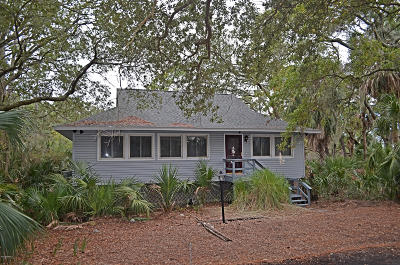 Fripp Island Single Family Home For Sale: 857 Water Oak Cove