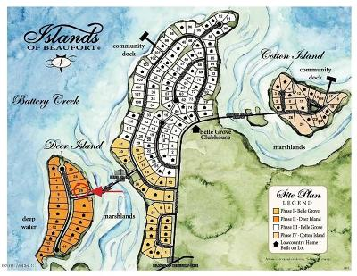 Beaufort, Beaufort Sc, Beaufot, Beufort Residential Lots & Land For Sale: 18 Anchorage Way
