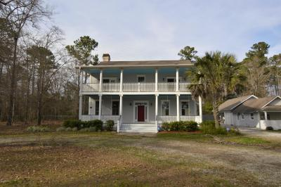 Beaufort County Single Family Home For Sale: 247 Johnson Road