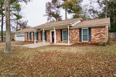 Beaufort Single Family Home Under Contract - Take Backup: 3013 Ratel Drive