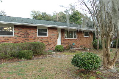Beaufort County Single Family Home Under Contract - Take Backup: 703 Center Drive W