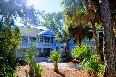 Fripp Island Single Family Home For Sale: 394 Wahoo Drive