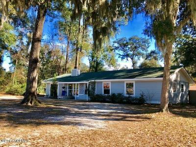 Beaufort County Single Family Home Under Contract - Take Backup: 3006 Cedarbrook Street