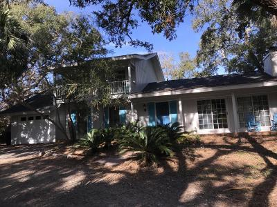 Fripp Island Single Family Home For Sale: 361 Tarpon Boulevard