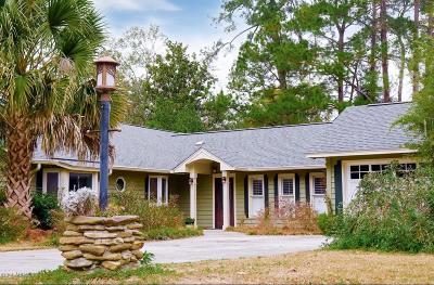 Baufort, Beaufort, Beaufot, Beufort Single Family Home For Sale: 6037 Creek Road