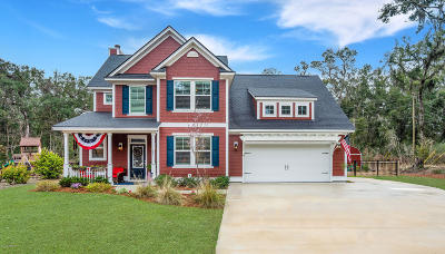 Beaufort County Single Family Home For Sale: 21 Sand Piper Dr