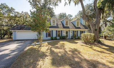 Beaufort, Beaufort Sc, Beaufot Single Family Home For Sale: 6058 Vaux Road