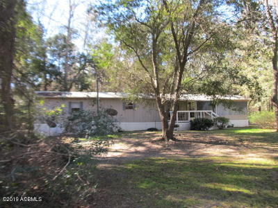 Beaufort County Mobile Home Under Contract - Take Backup: 958 Sams Point Road