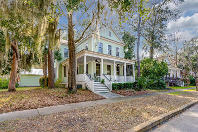 Beaufort County Single Family Home For Sale: 27 Park Square N