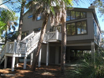Fripp Island Single Family Home For Sale: 115 Cardinal Crest Lane