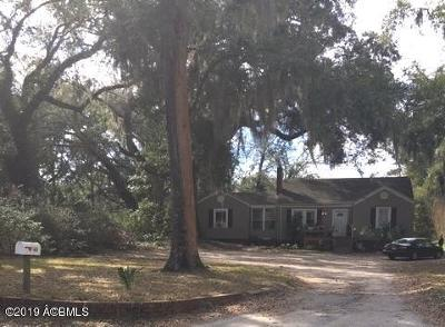 Beaufort, Beaufort Sc, Beaufot Single Family Home For Sale: 160 Fuller Parkway