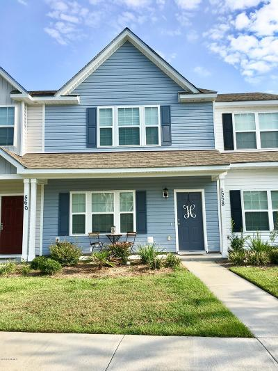 Beaufort Condo/Townhouse For Sale: 558 Candida Drive