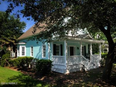 Beaufort, Beaufort Sc, Beaufot Single Family Home For Sale: 142 Willow Point Road