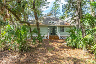 Fripp Island Single Family Home For Sale: 201 Deer Run Road