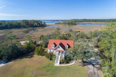Beaufort County Single Family Home For Sale: 60 Coosaw River Drive
