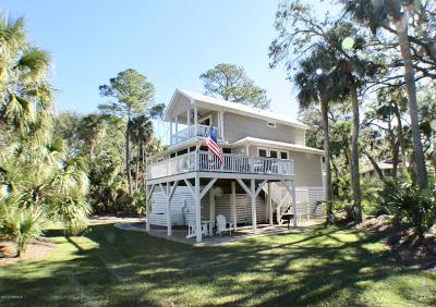 Fripp Island Single Family Home For Sale: 378 Sea Bass Drive