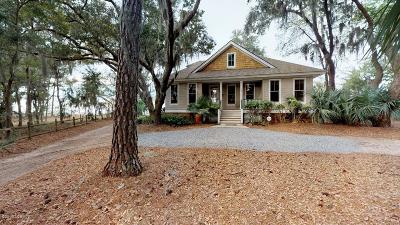 St Healena, St Helena, St Helena Is, St Helena Isl, St Helena Island, St. Helena, St. Helena Isalnd, St. Helena Island, St. Helens Single Family Home For Sale: 757 Eddings Point Road