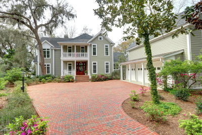 Beaufort County Single Family Home For Sale: 168 Bull Point Drive