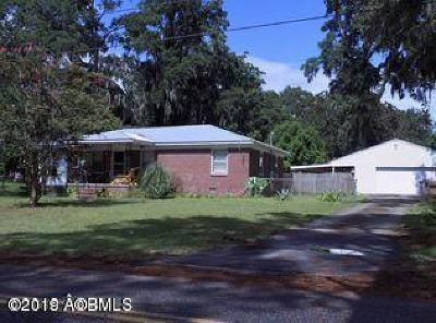 Beaufort, Beaufort Sc, Beaufot Single Family Home For Sale: 1707 Palmetto Drive