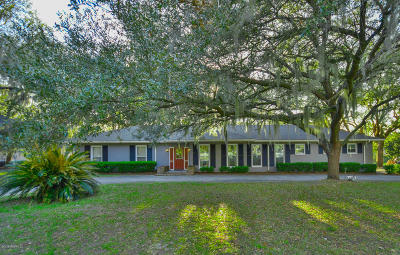 Beaufort County Single Family Home For Sale: 193 Brickyard Point Road S