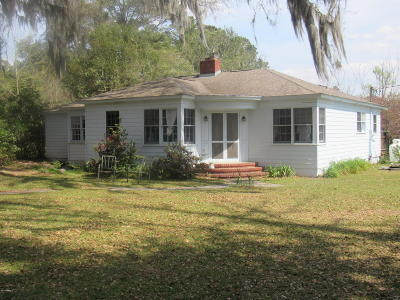Ridgeland Single Family Home For Sale: 2628 Bees Creek Road