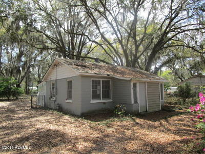 Beaufort Single Family Home For Sale: 2708 Waddell Road