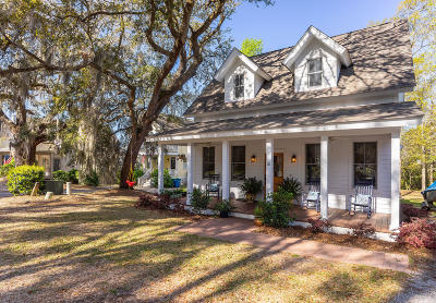 Beaufort Single Family Home For Sale: 18 Bostick Circle